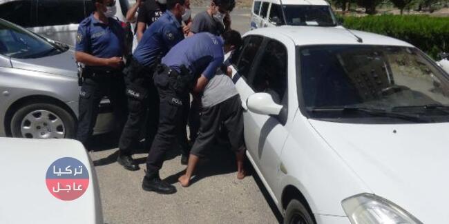 تركي يأخذ والده رهينة في أديامن والشرطة تتدخل